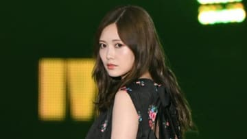 「Rakuten GirlsAward 2019 AUTUMN/WINTER」に登場した「乃木坂46」の白石麻衣さん