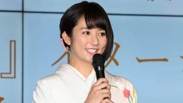 「富山米新品種『富富富(ふふふ)』」の新CM発表会に登場した木村文乃さん