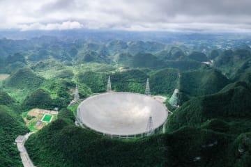 中国の巨大電波望遠鏡「天眼」、反復する高速電波バースト検出