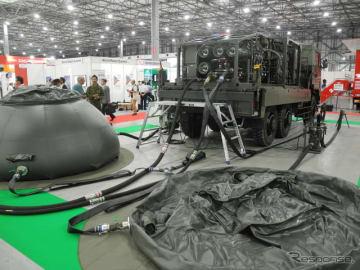 防衛省の浄水車