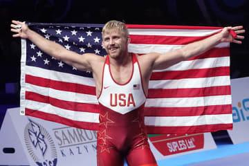 74kg級で東京オリンピックを目指す79kg級世界V2のカイル・デイク(米国)