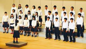 各校が練習で磨いた歌声を披露した小中ろう学校合同音楽会