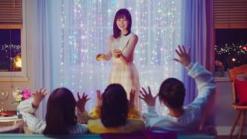 『明治 エッセル スーパーカップSweet's モンブラン』の新CM「フローズンマジック モンブラン」篇