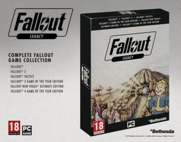 シリーズ6作品収録のPC向けコレクション『Fallout Legacy』が正式発表―発売地域はイギリスとドイツのみ