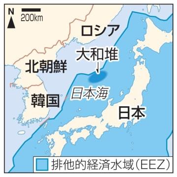 日本、韓国、北朝鮮、大和堆
