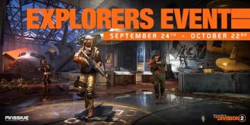 『ディビジョン2』第4回衣料品イベント「探検家」が期間延長、10月7日のメンテナンスにて