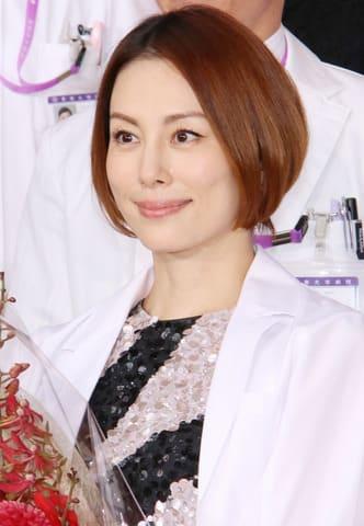 連続ドラマ「ドクターX~外科医・大門未知子~」第6シリーズの制作発表記者会見に登壇した米倉涼子さん