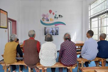農村高齢者世帯の「ぬくもりの家」を訪ねて 江西省南昌市