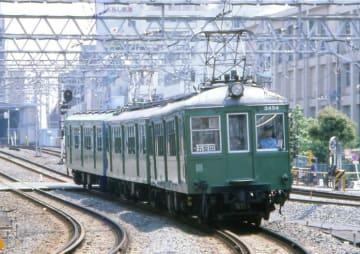 旧3000系「緑の電車」 画像:東急電鉄