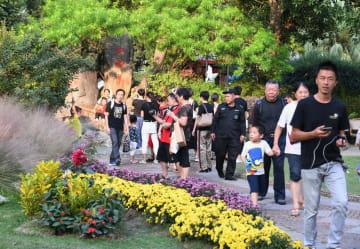 国慶節連休中の国内旅行者、延べ7億8200万人