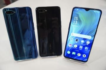 オッポジャパンが発表したスマートフォン「リノ A」
