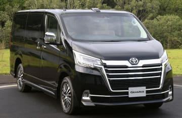 トヨタ自動車が年内に発売すると発表した、新型の高級ワゴン「グランエース」