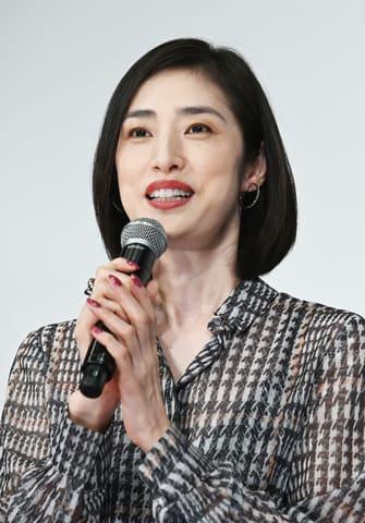 映画「最高の人生の見つけ方」の公開直前イベントに登場した天海祐希さん