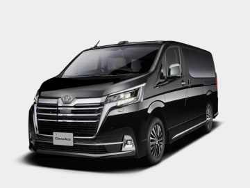 トヨタの新型モデル、大型フルサイズワゴン、新型グランエースだ、写真は東京モーターショー2019/トヨタ車体ブース展示モデル、3列6人乗りと4列8人乗りをラインアップする
