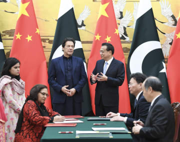 李克強総理、パキスタン首相と会談