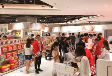 Japanese children's clothing chain Akachan Honpo Co.'s first overseas store in New Taipei City, as pictured on Oct. 4, 2019. (Photo courtesy of Akachan Honpo)
