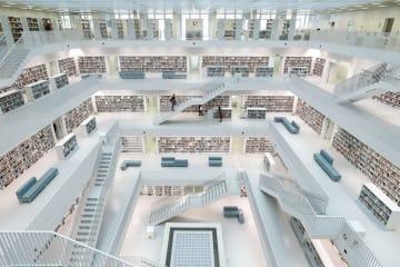 ルービックキューブのような図書館を訪ねて ドイツ