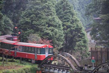 100年走り続ける阿里山森林鉄道 台湾