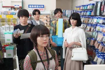 連続ドラマ「同期のサクラ」第1話のワンシーン=日本テレビ提供