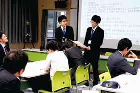 ウェブ会議システムを介して最新の指導法を学んだ市教研研修講座