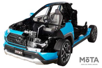 ジェイテクト RAV4 カットモデル 「第46回東京モーターショー」出展