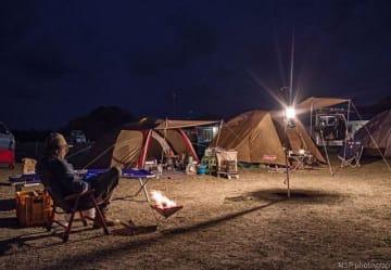 過去に開催したキャンプイベントの様子(3月、和歌山県すさみ町提供)
