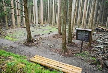 和歌山県が発掘調査に取り組んだ熊野古道沿いの道湯川集落跡(和歌山県田辺市中辺路町で)