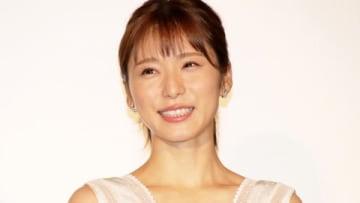 主演映画「蜜蜂と遠雷」の初日舞台あいさつに出席した松岡茉優さん