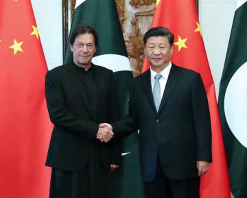 習近平主席、パキスタン首相と会見