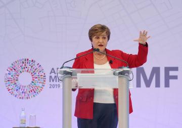 IMF新専務理事、貿易摩擦が数千億ドルの損失をもたらすと警告