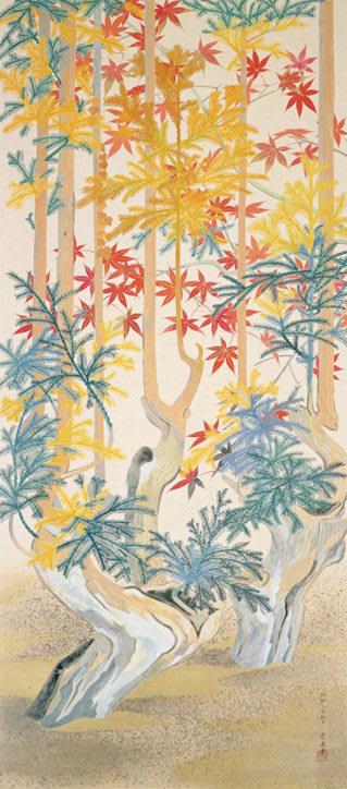 山口蓬春記念館で企画展「花鳥風月-山口蓬春、日本の美を描く」ギャラリートークも開催