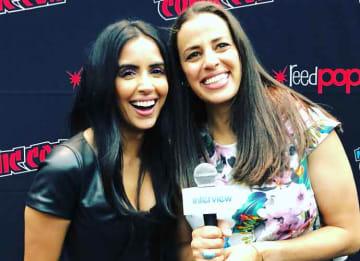 New York Comic Con VIDEO EXCLUSIVE: Athena Karkanis & Parveen Kaur On 'Manifest' Season 2, Fear Of Flying
