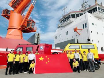 活躍の場広げる「中国製造」 新型極地車両が南極へ