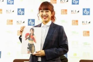 菅原美憂が強敵・C-ZUKA(写真)と激突(C)M-1 Sports Media