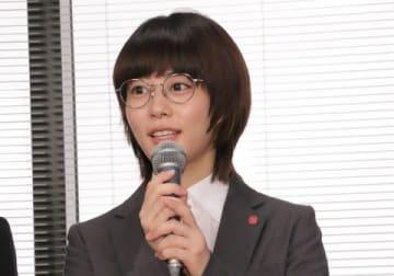 連続ドラマ「同期のサクラ」で主演を務める高畑充希さん