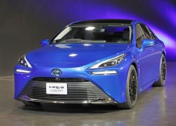 トヨタ自動車が2020年末に発売すると発表した燃料電池車(FCV)「MIRAI(ミライ)」の次期モデル