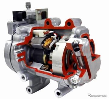中国で生産予定の電動コンプレッサー ESB27