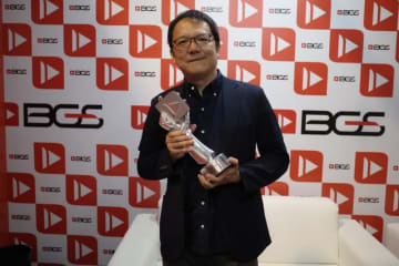 これからも手応えのあるゲームを作っていきたい-フロム・ソフトウェアの宮崎英高氏がブラジルゲームショウで「生涯功労賞」を受賞!