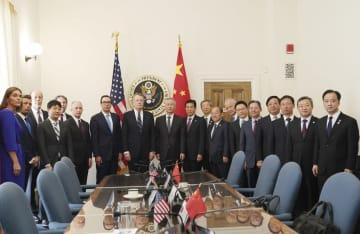 新ラウンドの中米経済貿易ハイレベル協議、ワシントンで始まる