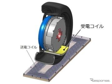 第3世代走行中ワイヤレス給電インホイールモータ