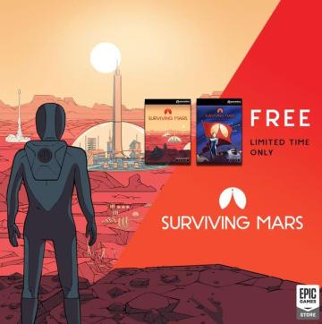 Epic Gamesストアで『Surviving Mars』期間限定無料配布!次回は『Alan Wake's American Nightmare』&『observer_』