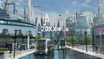 東京モーターショー2019 トヨタ自動車ブース イメージ