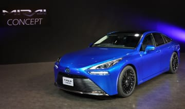 トヨタの燃料電池車「MIRAI Concept」 東京モーターショーで初公開