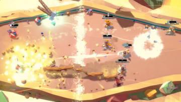 ドタバタ対戦アクション『MageQuit』正式版配信開始―勝ち続けて最長のひげを目指せ!