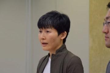 原告の吉田晶子さん(2019年10月11日/弁護士ドットコム撮影)