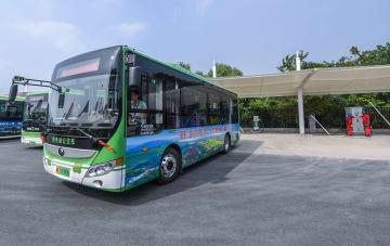 都市部・農村部の全路線でEVバスを導入 浙江省長興県