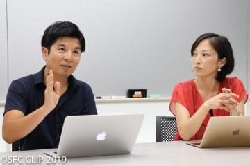 台風について語る宮本講師