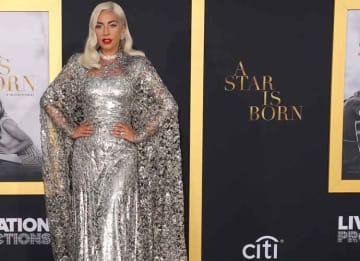Lady Gaga At The Los Angeles Premiere Of Her Upcoming Movie 'A Star Is Born'