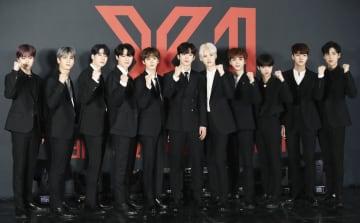 韓国のアイドルオーディション番組「プロデュースX101」でデビューした「X1」(聯合=共同)