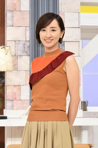 10月12日に放送される健康番組「健康カプセル! ゲンキの時間」に出演する西尾由佳理さん=CBC提供